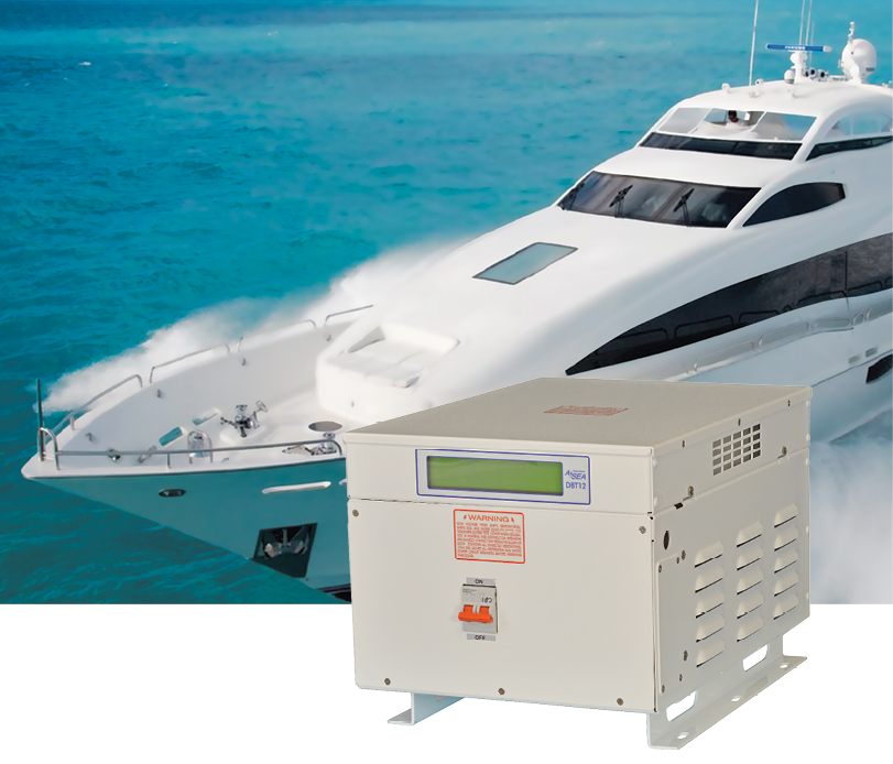 Power Conversion and Stabilization for Marine Applications by Mission Critical Electronics
