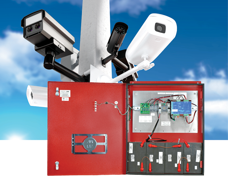Battery Back-up Power Enclosures Systems for Public Safety / Security / Surveillance by Mission Critical Electronics