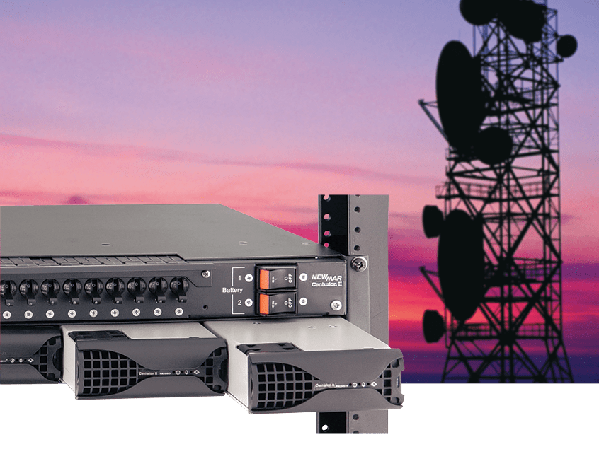DC Power Systems provide primary and back-up power for wireless communication system
